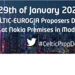 Joint CELTIC and EUROGIA Proposers Day in Madrid, 29 January 2020